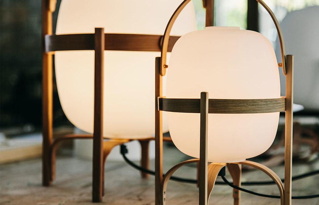 lámpara Cesta, decoración de interiores Vigo