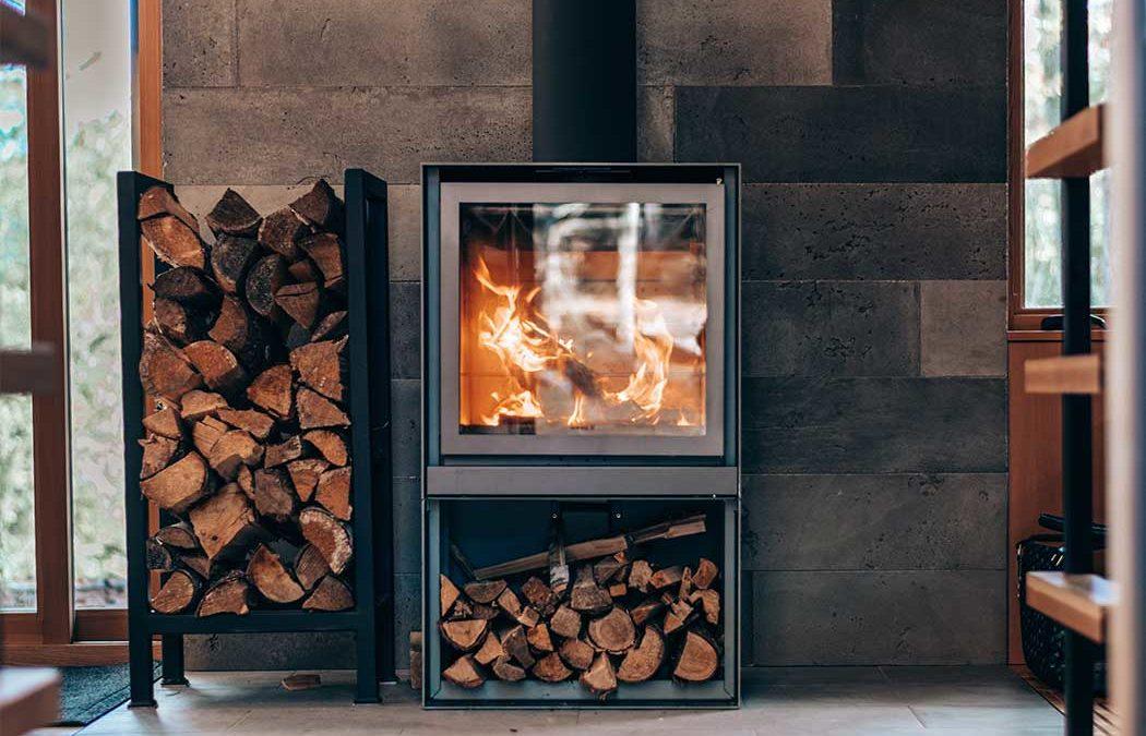 interiorista Vigo elegir chimenea